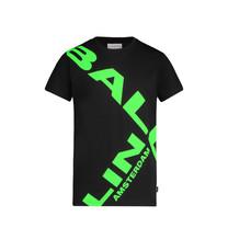 T-shirt black/green