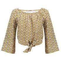 blouse Sima print olive birds
