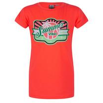 meisjes T-shirt summer bright pink