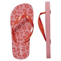 meisjes slippers Flox shell pink leopard