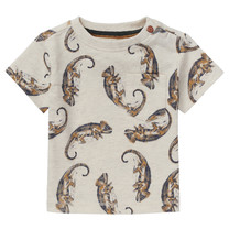 jongens T-shirt Tyenna oatmeal