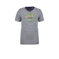 T-shirt stripe surfing/skating navy