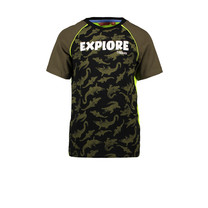T-shirt ao crocodile explore army