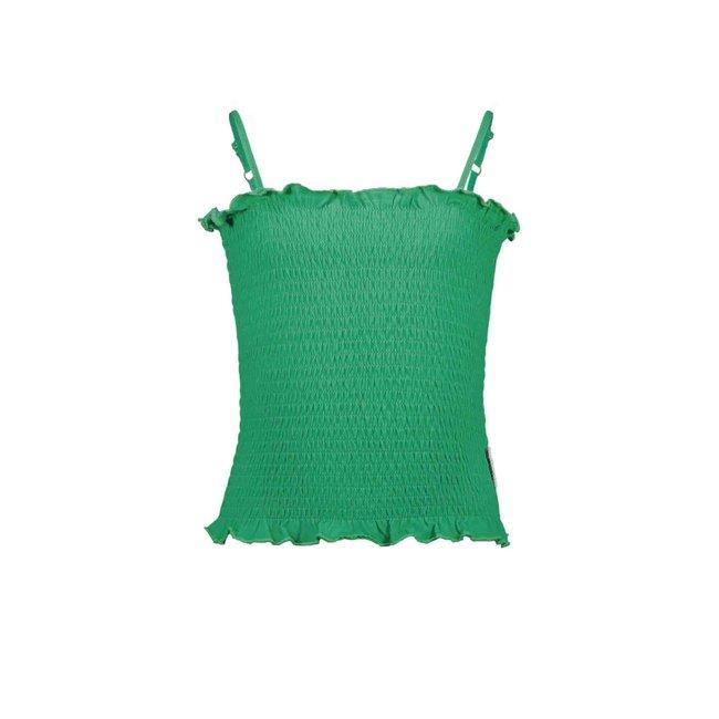 B.Nosy meisjes smocked top golf green