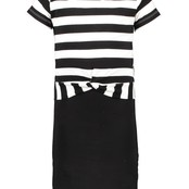 B.Nosy jurk met shirt black