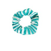 B.Nosy scrunchie tropical green stripe