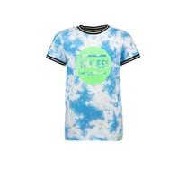 jongens T-shirt tie dye surf blue