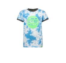 B.Nosy jongens T-shirt tie dye surf blue
