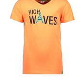 B.Nosy jongens T-shirt neon orange