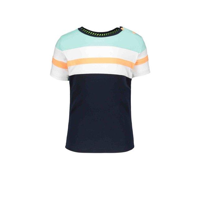 B.Nosy jongens T-shirt met strepen oxford blue
