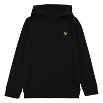 trui jersey hoodie black