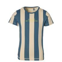 jongens T-shirt Fergus sport blue stripe