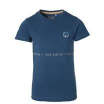 jongens T-shirt Fern sport blue