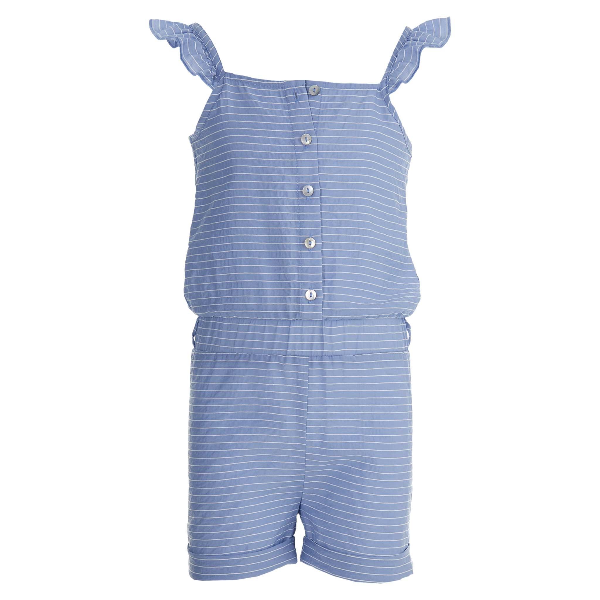 jumpsuit Fetske summer blue stripe
