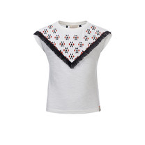 T-shirt white lilly