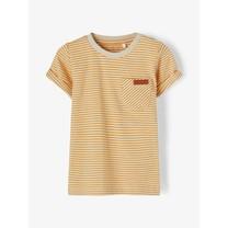 jongens T-shirt Fipan spruce yellow