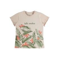meisjes T-shirt Firenze peach whip