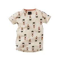 jongens T-shirt Paul cococream/aop