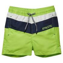 jongens zwemshort Faelan neon green