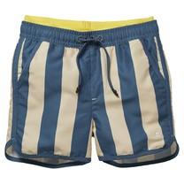 jongens zwemshort Fahad sport blue stripe
