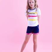 B.Nosy meisjes T-shirt met multicolour print snow white