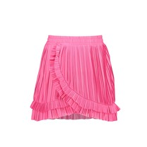 rok plissé beetroot pink