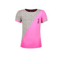 meisjes T-shirt met klein logo sugar plum