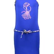 B.Nosy jurk cobalt blue