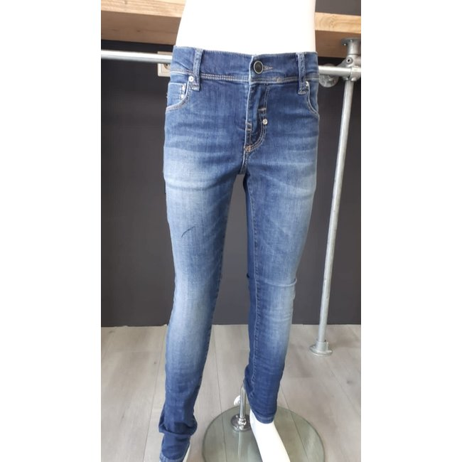 Antony Morato spijkerbroek Fighetto extra skinny fit super light stretch blue