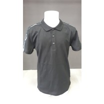 polo regular fit jersey cotton black