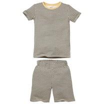 jongens pyjama Pim aop sand abstract