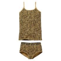 meisjes ondergoed set Pip aop sand leopard