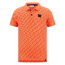 jongens polo Duco neon orange