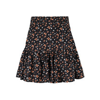 broek-rok Tara black flower print