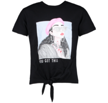 Cars meisjes T-shirt Lebella black