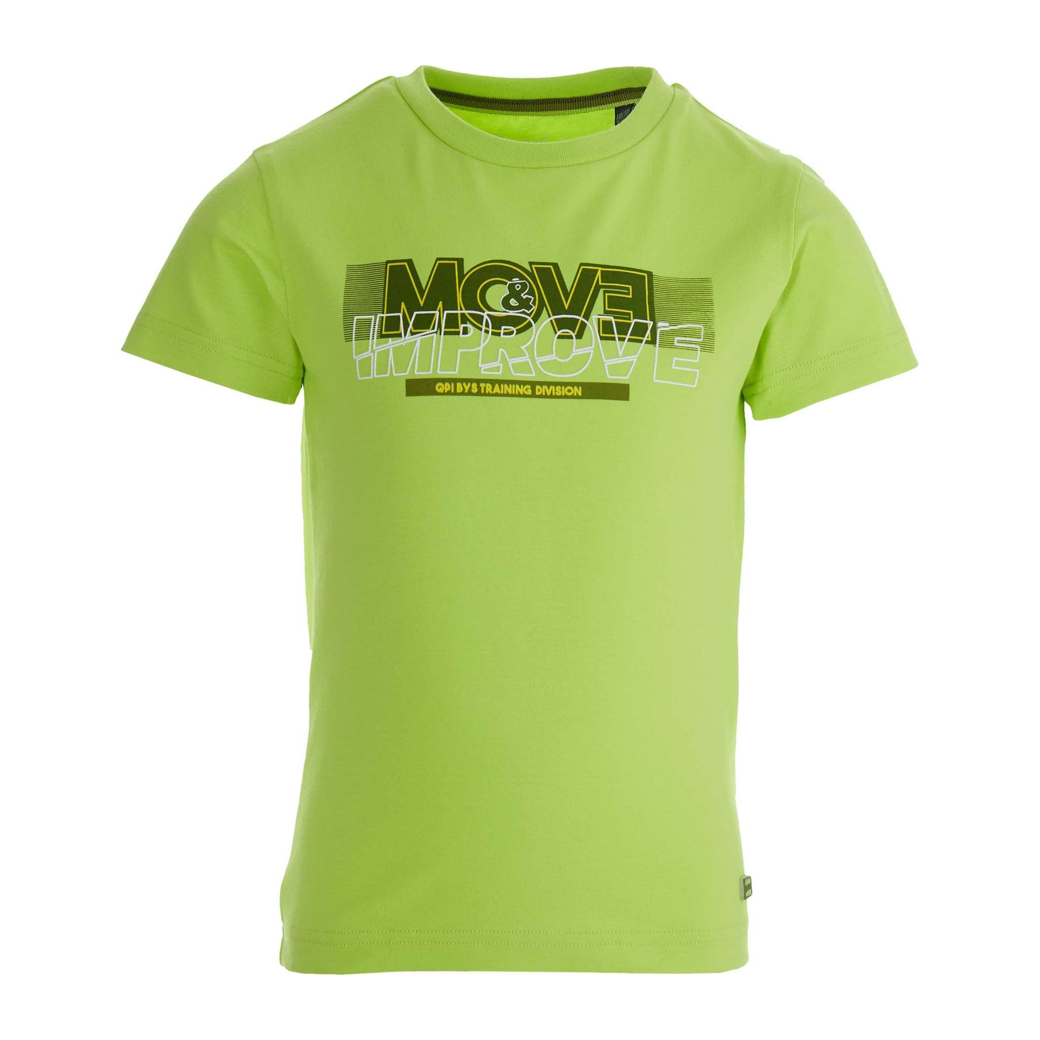 jongens T-shirt Fayez yellow fresh