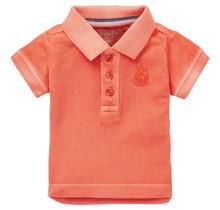 Noppies jongens polo Tarleton vermillion orange