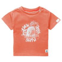 jongens T-shirt Twisk vermillion orange