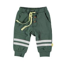 Bess jongens broek knee stripes green