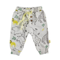 jongens broek aop animals dessin