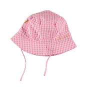 Bess meisjes zomerhoedje vichy pink