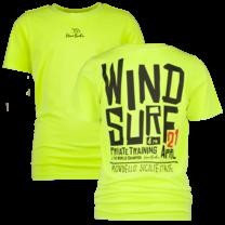 jongens T-shirt Hawaiki chill yellow - Kiran