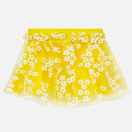 Mayoral rok tulle yellow