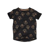 jongens T-shirt Jay beasty black/aop