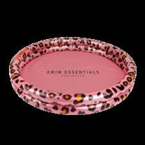 Kinder zwembad 100 cm panterprint roze goud