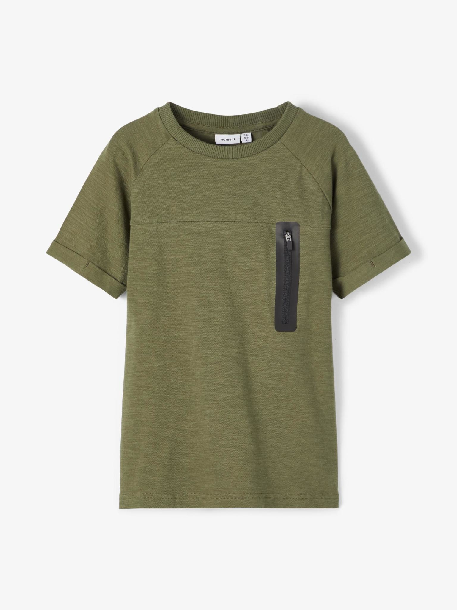 jongens T-shirt Jesper ivy green