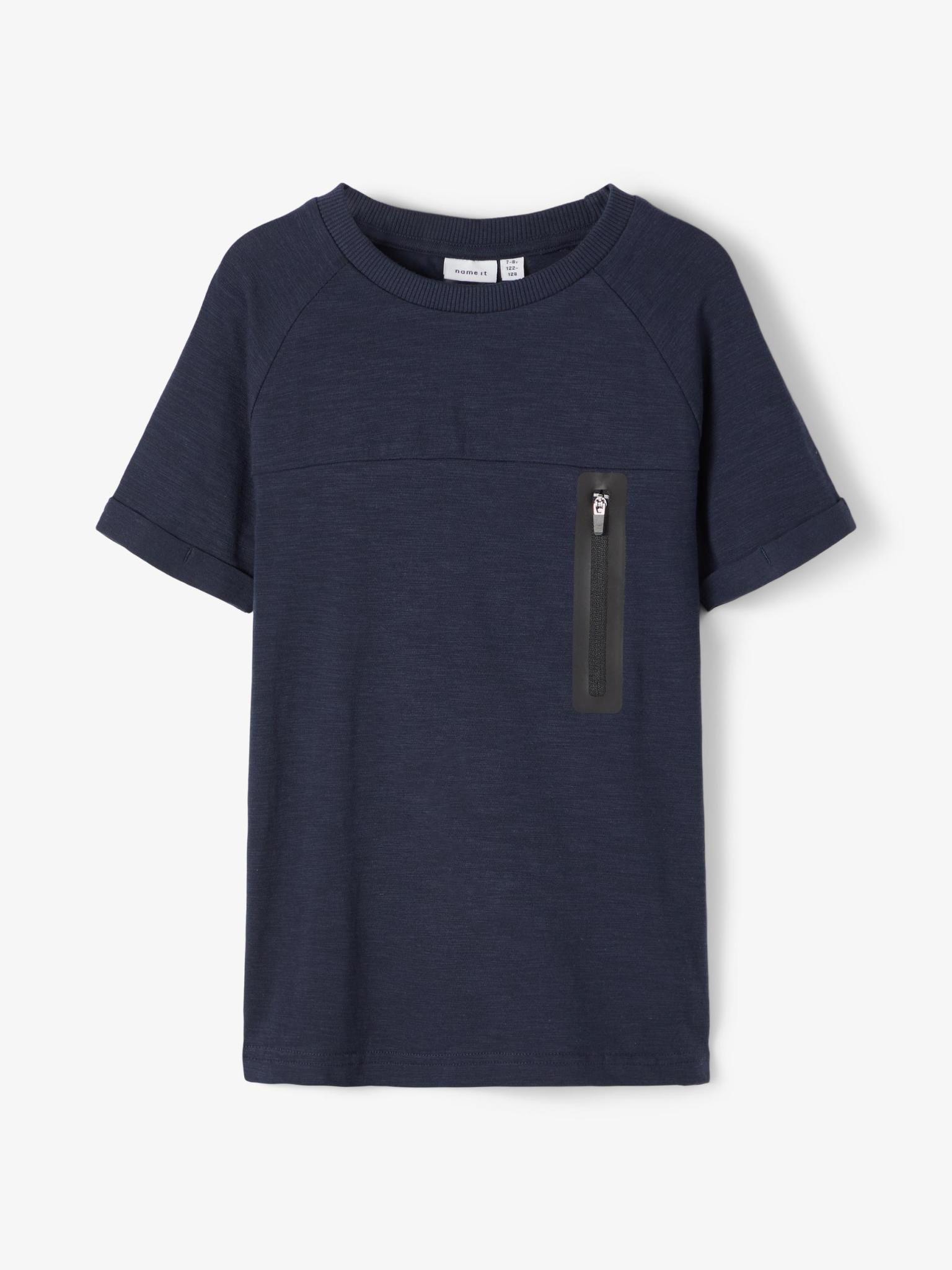 jongens T-shirt Jesper dark sapphire
