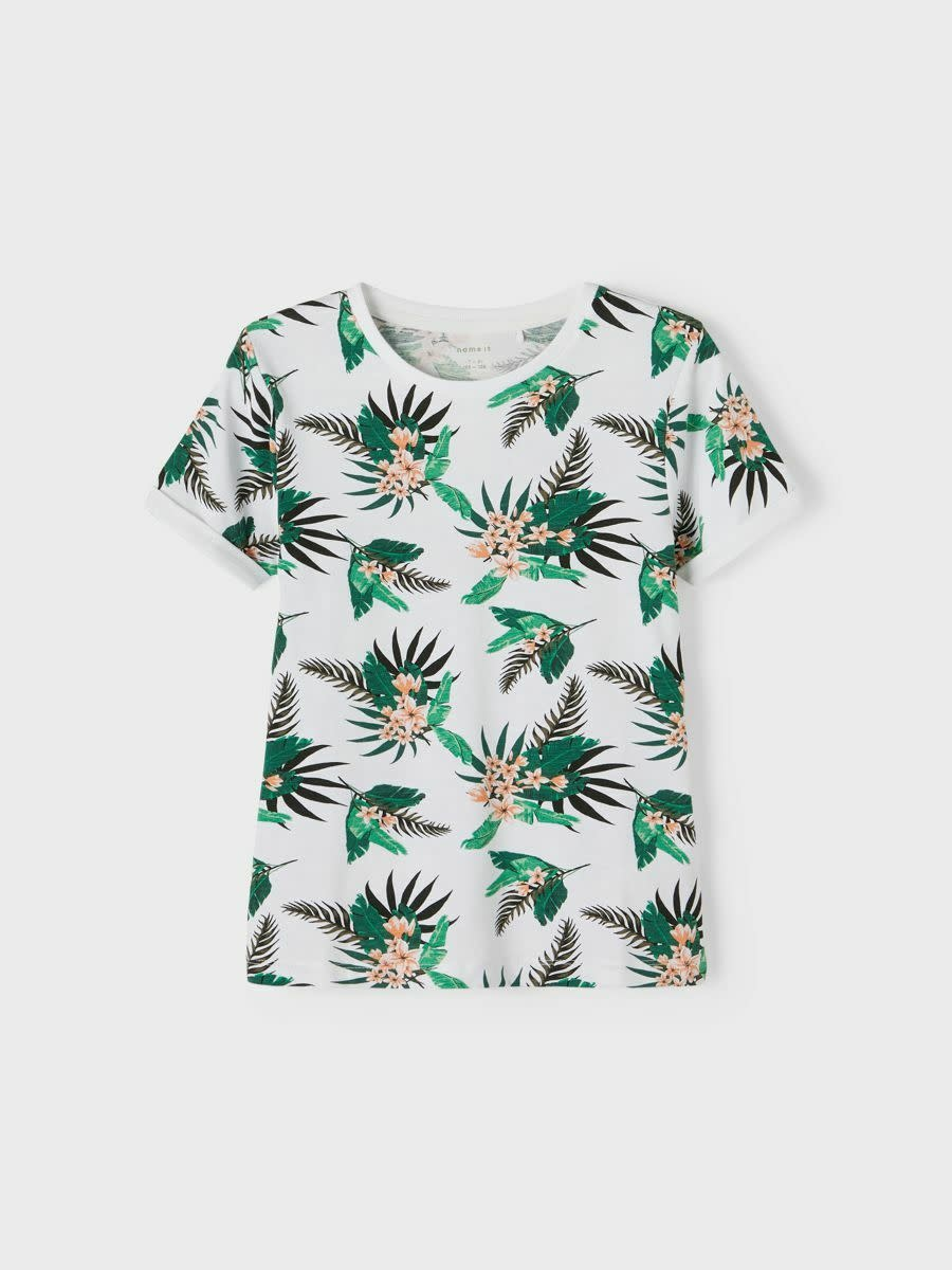 jongens T-shirt Johan bright white