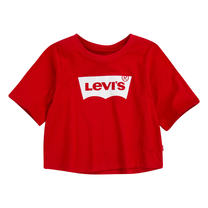 meisjes T-shirt high rise barwing superred