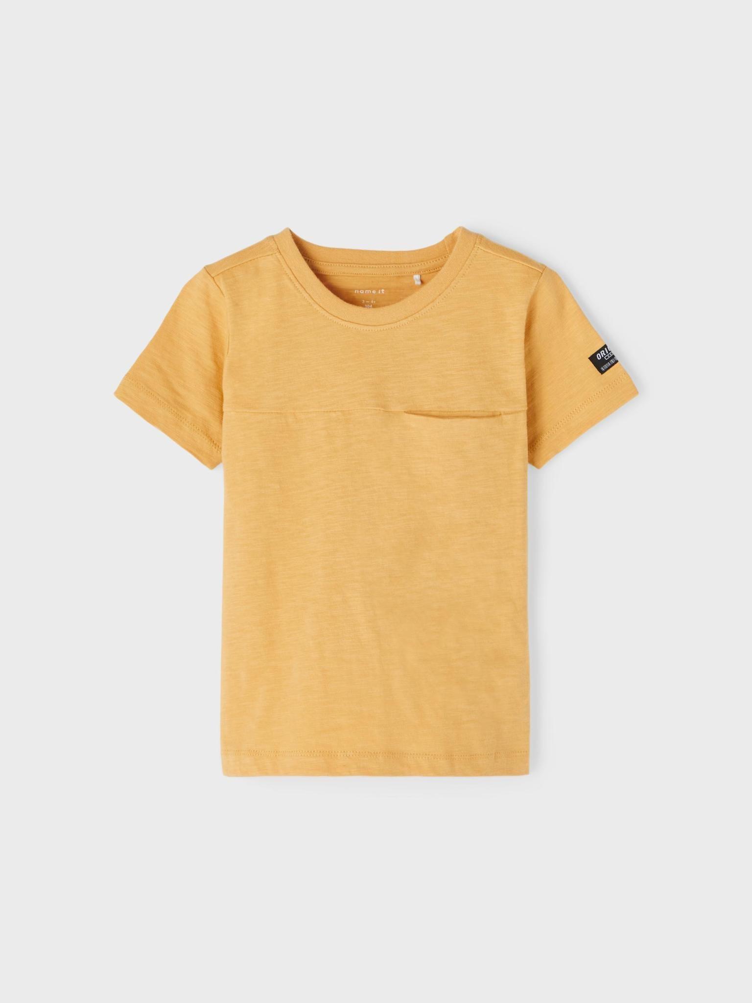 jongens T-shirt Jason fall leaf